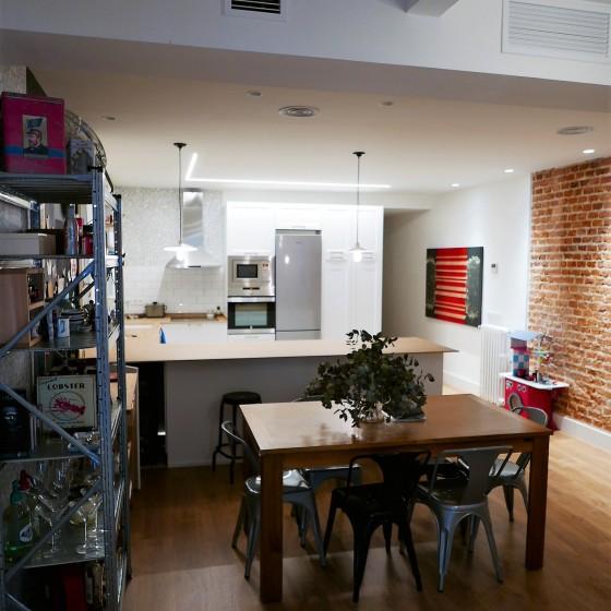 Reforma integracion de espacios