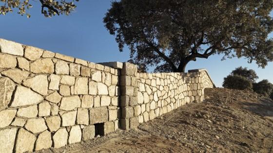 Restauración Muro de El Pardo